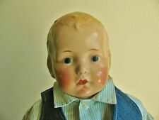ANTIQUE VINTAGE HORSMAN BOY COMPOSITION DOLL, 16""