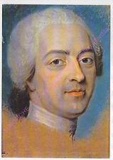 CP ART TABLEAU MAURICE QUENTIN DE LA TOUR Portrait  LOUIS XV