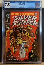 Silver Surfer #3 CGC 7.5 Huge Key 1st Appearance of Mephisto 🔥 Key Auction Now