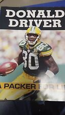 DONALD DRIVER A PACKER FOR LIFE GREEN BAY NFL FOOTBALL SUPERBOWL 2013 BOOK