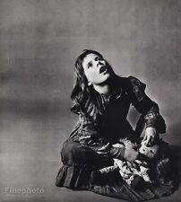 1962 Vintage 16x20 PATTY DUKE Actress Film Stage Television Art PHILIPPE HALSMAN