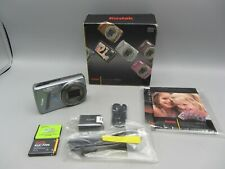 Mint Boxed Kodak EasyShare M580 14mp 8x Optical Zoom HD Digital Camera - Silver