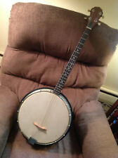 Tenor Banjo 4 String Walnut Finish