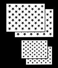 4 упаковка спрей Аэрограф трафареты для покраски американский флаг 50 американских звезд малых и больших