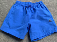 AS NEW ADIDAS BLUE CLIMALITE MENS SHORTS S Rrp$55