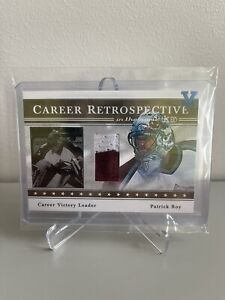 ONE OF ONE 2003-04 In The Game-Used - Patrick Roy - Career Retrospective 1/1