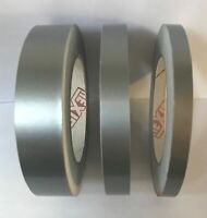 Satin Silver Coach Line Pin Stripe Vinyl Tape 10 meters x 10mm | BOAT/CAR/BIKE