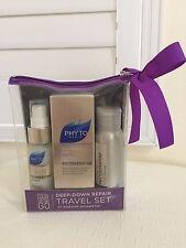 PHYTO PARIS JOBA Shampoo Mask Oil 3 pcs Travel Set for DRY Hair Shine Cleanse