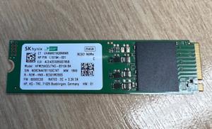 NVME SSD M.2 256GB   SK Hynix   HFM256GDJTNG-8310A BA   L15194-001
