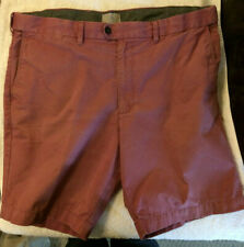 "Men's M&S Collection Raspberry Pink Chino Shorts W42"" Summer travel 100% Cotton"