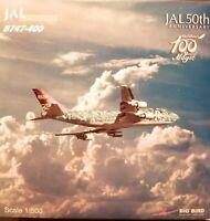 """BigBird 1:500 JAL Boeing 747-400 """"Disney"""" plus herpa wings Katalog"""