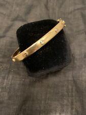 14K Solid Gold Love Bracelet with Screws Italy 3 Oz ; 10 Gr