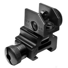 Hunting Weaver Picatinny Rail REAR Flip-Up Sight Mount