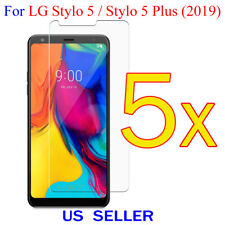 5x Clear LCD Screen Protector Guard Cover Film LG Stylo 5 / Stylo 5 Plus (2019)