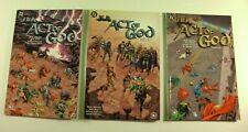 Lot of 3 DC Comics JLA Act of God 1, 2, 3 Complete Set TPB 2000 (VF-)