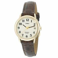 Timex T20071 Women Leather strap Analouge Watch