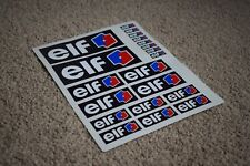 ELF Race Racing Car Auto Motorbike Sport Tuning Turbo F1 F2 F3 Decals Stickers