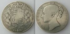 Collectable 1844 Queen Victoria Young Head Crown Coin Cinquefoil Stops