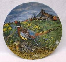 """""""The Pheasant"""" Collector Plate, 1st Issue of Upland Birds of N. America 1986"""
