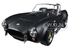 1964 SHELBY COBRA 427 S/C MATT BLACK 1:18 DIECAST MODEL BY ROAD SIGNATURE 92058