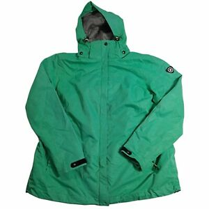 Women's Green KILLTEC Waterproof Rain Jacket Size XL (USA 18)