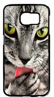 Cute Funny Cat Cats Pet Pattern Design Back Case Cover For Samsung Note Models