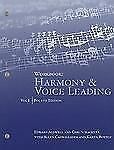 Harmony and Voice Leading Vol. 1 by Allen Cadwallader, Edward Aldwell and Carl S