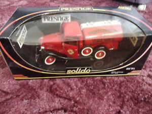 Solido Prestige Ford Citerne Tanker Red #8005 large scale