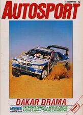 Autosport 14 Jan 1988 - Paris Dakar Rally, Survey World Touring Car Championship