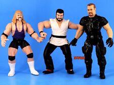 WWF Jakks BCA Wrestling Figure Lot Al Snow Big Boss Man Steve Blackman WWE_s31