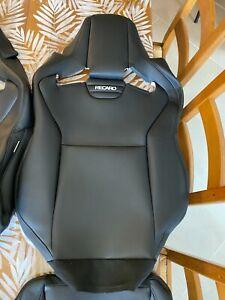 Housse de sièges RECARO CROSS SPORTSTER CSsimili cuir noir neuf