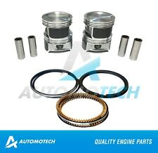 SIZE 040  Piston & Rings Kit Fits Ford Mazda Escape Focus Tribute 2.3 L Duratec