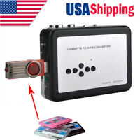 USB Cassette Tape Convert to MP3 CD Capture Stereo Audio Music Player Recorder