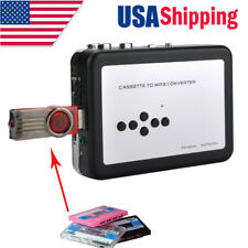 Cassette to MP3 Converter Tape to USB U Flash Disk Music Capture Walkman Player