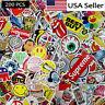 Lot 200 Random Vinyl Laptop Skateboard Stickers bomb Luggage Decals Dope Sticker