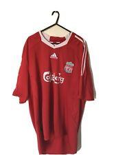 Liverpool 2008-09 Adidas home football shirt in XXL
