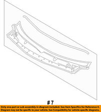 FORD OEM Explorer-Cowl Grille Panel Windshield Wiper Cover Vent BB5Z78022A68AA
