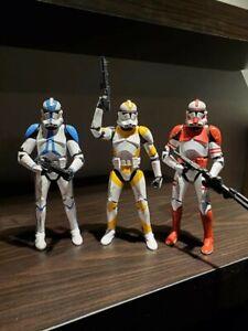 Star Wars Black Series 6 Inch Order 66 Clone Trooper Loose Lot