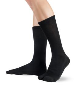 Knitido Traditionals Tabi, klassische wadenlange Zwei-Zehen-Socken aus Japan