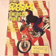 Cycle World Magazine Ness Cafe XR1000 Ducati Paso 907 June 1991 061917nonrh