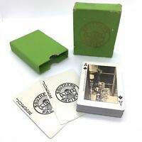 Southern Pacific Lines Vintage Train Travel Scenic Playing Cards w/ Green Box