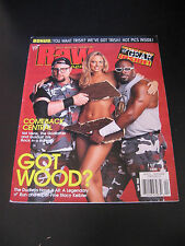 Raw Magazine April 2002 Dudley Boyz Stacy Keibler &Trish Stratus poster WWF WWE