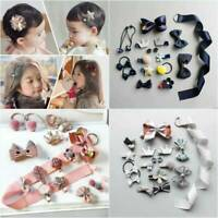 18Pcs/set Hairpin Baby Girl Kids Infant Hair Clip Bow Flower Mini Barrettes Star