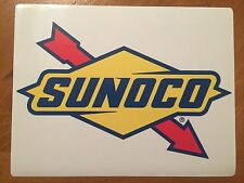 Tin Sign Vintage Sunoco Gas Station Motor Oil 1