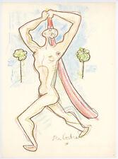 Jean Cocteau original lithograph 546786897