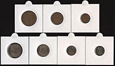 NORWAY 1964 MINT SET 1-2-5-10-25-50 ORE + 1 KRONE