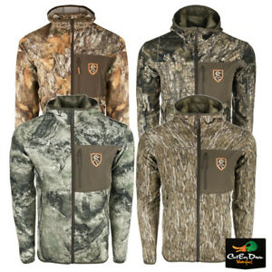 DRAKE NON TYPICAL PERFORMANCE FULL ZIP FLEECE HOODIE WITH AGION ACTIVE XL