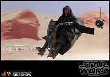 Hot Toys! Star Wars Episodio I - Darth Maul & Sith Speeder Figura, Escala 1:16