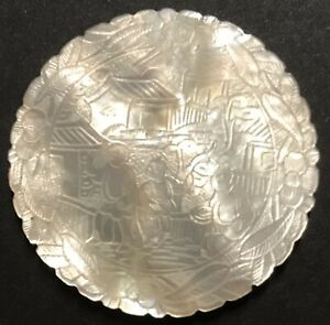 CHINESE MOTHER OF PEARL GAMING COUNTERS CHIP
