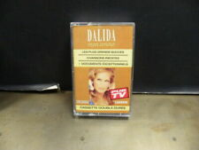 Cassettes audio dalida